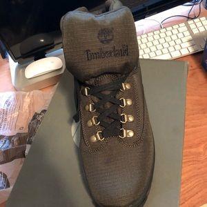 Men's Green Timberland Boots